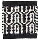 Handvävd matta Alba Black-White.