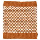 Handvävd matta Ask Orange-White.