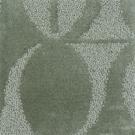 Handtuftad matta Aster Vintage Dahlia Aqua Green.