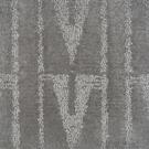 Handtuftad matta Aster Vintage Kalla Silver Grey.