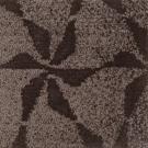 Handtuftad matta Aster Vintage Lilja Taupe.