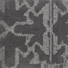 Handtuftad matta Aster Vintage Pilar Metal.
