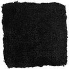 Handtuftad matta Astro, färg Black.