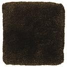 Handtuftad matta Astro, färg Dark brown.