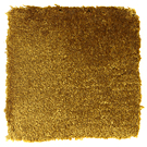Handtuftad matta Astro, färg Golden Yellow.