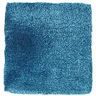 Handtuftad matta Astro, färg Turquoise.