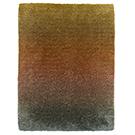 Handtuftad matta Astro Shade Fire Opal.