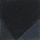 Handtuftad matta Bevel, färg Blue, design av Luca Nichetto.