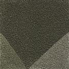 Handtuftad matta Bevel, färg Moss Green, design av Luca Nichetto.