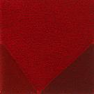 Handtuftad matta Bevel, färg Red, design av Luca Nichetto.