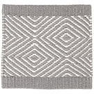 Handvävd matta Fenix Grey-White.