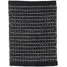 Handvävd matta Inca Black-White.