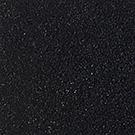 Handtuftad matta Linn, färg Black.
