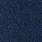 Handtuftad matta Linn, färg Imperial Blue.