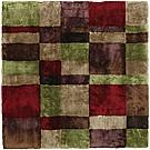 Handtuftad matta Landscape färg Toscana, design av Mia Wahlstein.