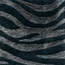 Handtuftad matta Zebra Jadeite.