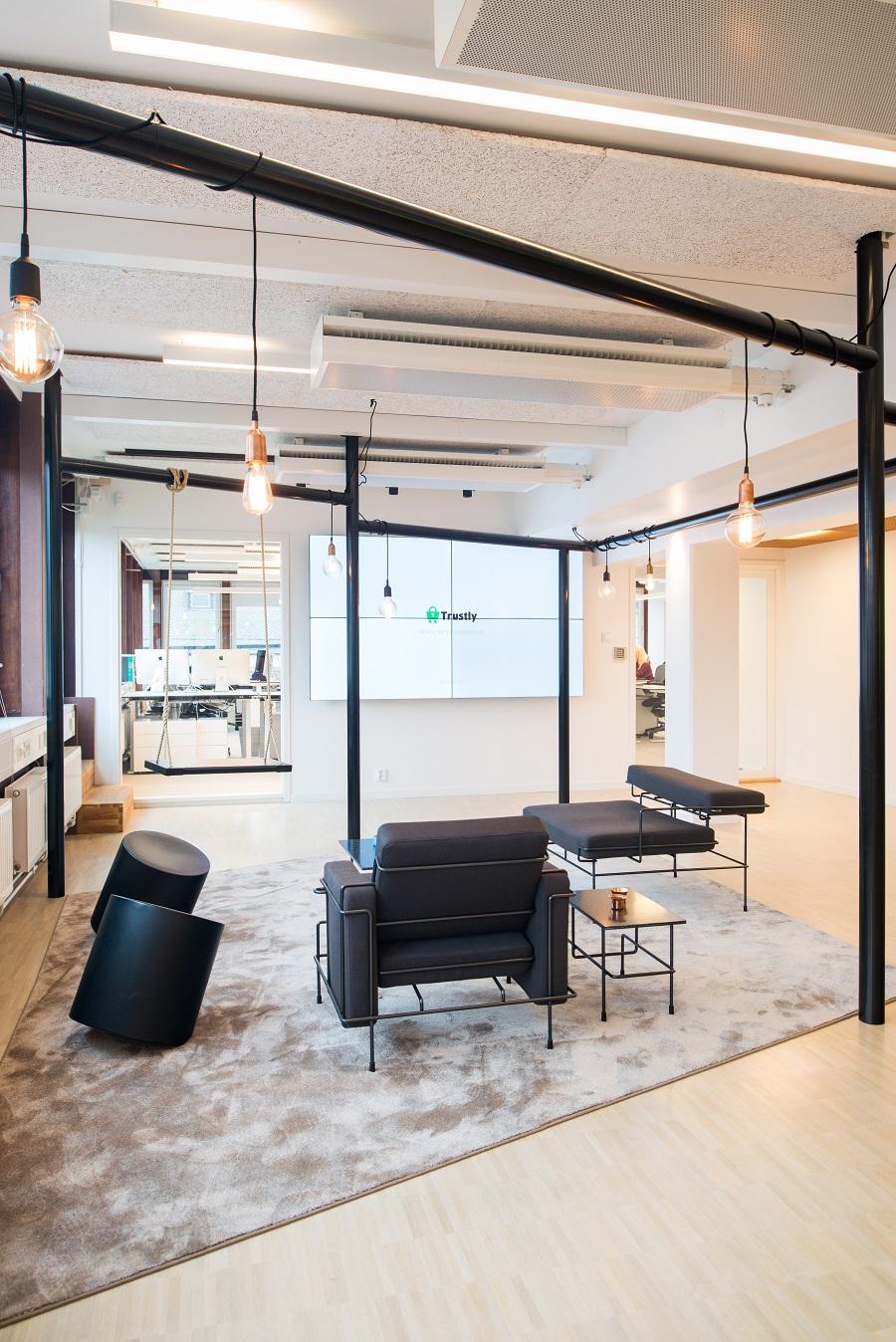 Matta Frame Superior 1064 på Trustlys kontor, projekt av före detta PS Arkitektur.