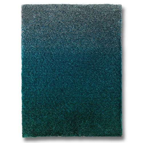 Handtuftad matta Astro Shade, färg Pacific Opal.