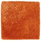 Handtuftad matta Astro, färg Burnt Orange.