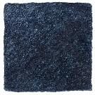 Handtuftad matta Astro, färg Denim Blue.