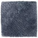 Handtuftad matta Astro, färg Greyish Blue.