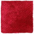 Handtuftad matta Astro, färg Rouge.