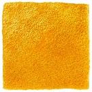 Handtuftad matta Astro, färg Spicy Mustard.
