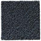 Handtuftad matta Leo, färg Steel Blue.