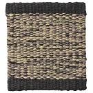 Handvävd matta Lyra Mix, färg Black Beige.