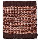 Handvävd matta Lyra Mix, färg Rusty Pink.