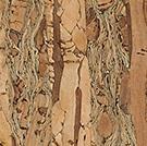 Kork Natural, färg Persimmon.