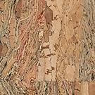 Kork Natural, färg Tamarind.