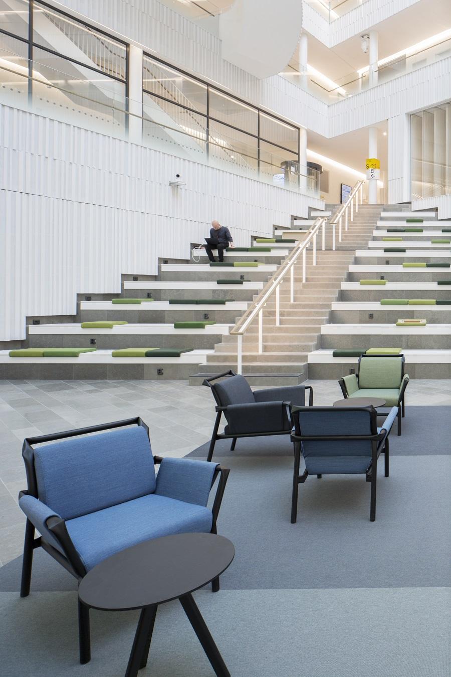 Matta Metric Superior 1016 under sittgrupper på SEB, projekt av Wingårdhs.