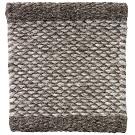 Handvävd matta Ask, färg Grey grå.