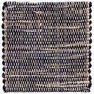 Handvävd matta Canvas, färg Navy blå.
