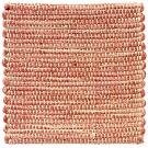 Handvävd matta Canvas, färg Rouge rosa.