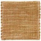 Handvävd matta Canvas, färg Savann gul.
