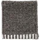 Handvävd matta Frode, färg Dark Grey grå.
