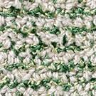 Handtuftad matta Isa, färg Forest Green grön.