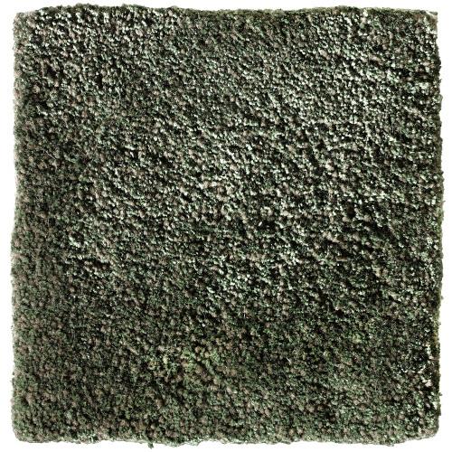 Handtuftad matta Vega Astro Mix, färg Clover grön.