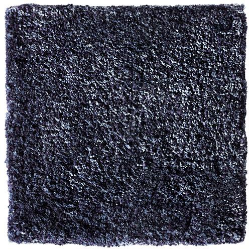 Handtuftad matta Vega Astro Mix, färg Deep Blue blå.