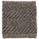 Handvävd matta Ymer, färg Dark Grey grå.