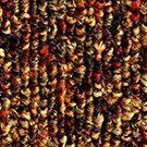 Textil platta Infinity färg 6444 solar flare orange.