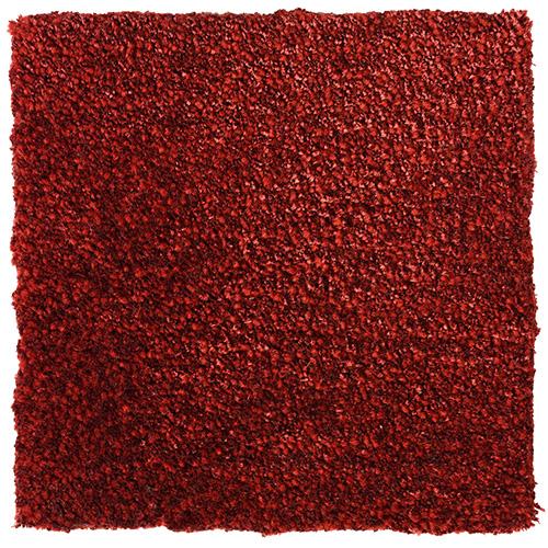 Handtuftad matta Vega Astro Mix Copper röd.