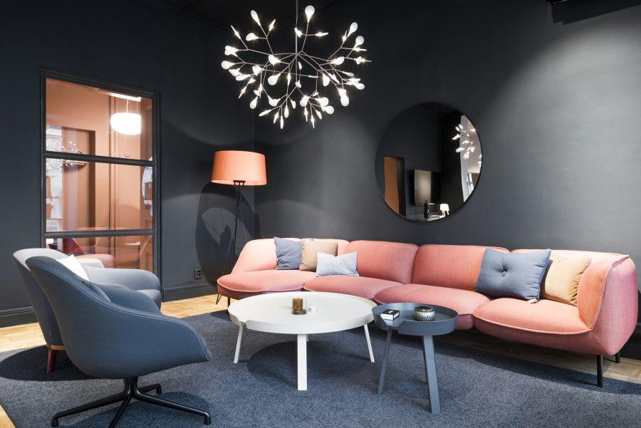 Matta Lux Exclusive 1066 under sittgrupp på Addentity's kontor, projekt av Addentity Interiör.