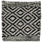 Handvävd matta Ariel färg Black Sky grå från Ogeborg Design Collection.