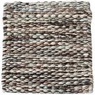 Handvävd matta Nova färg Brown Marble brun från Ogeborg Design Collection.