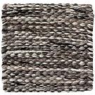 Handvävd matta Nova färg Grey Marble brun från Ogeborg Design Collection.