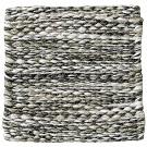 Handvävd matta Nova färg Natural Grey grå från Ogeborg Design Collection.