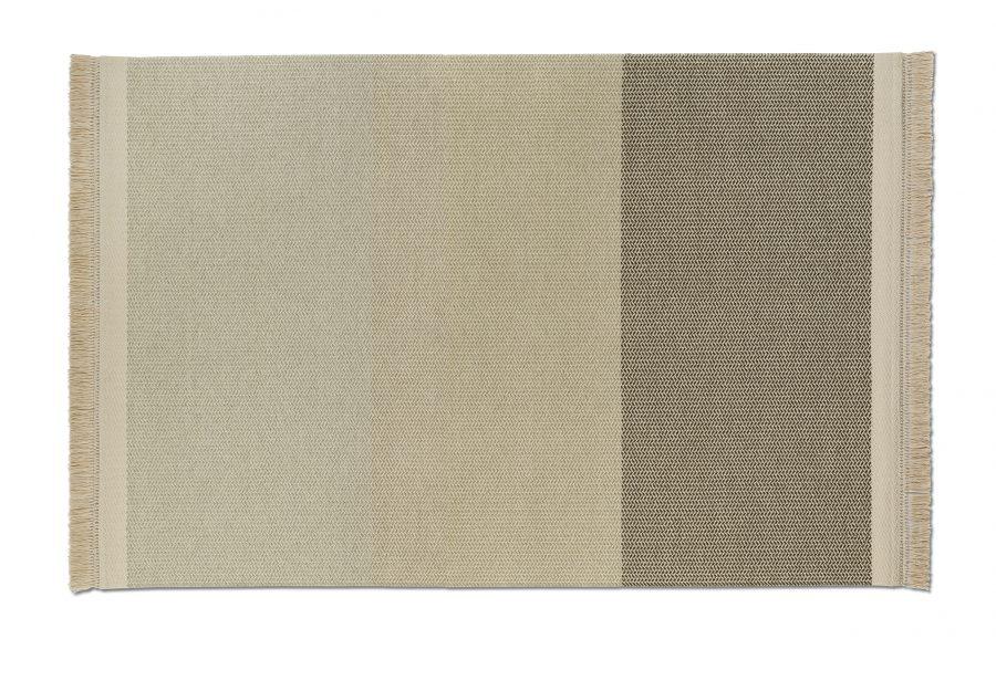 Handvävd matta Twine färg Nature, designsamarbete med Alexander Lervik.
